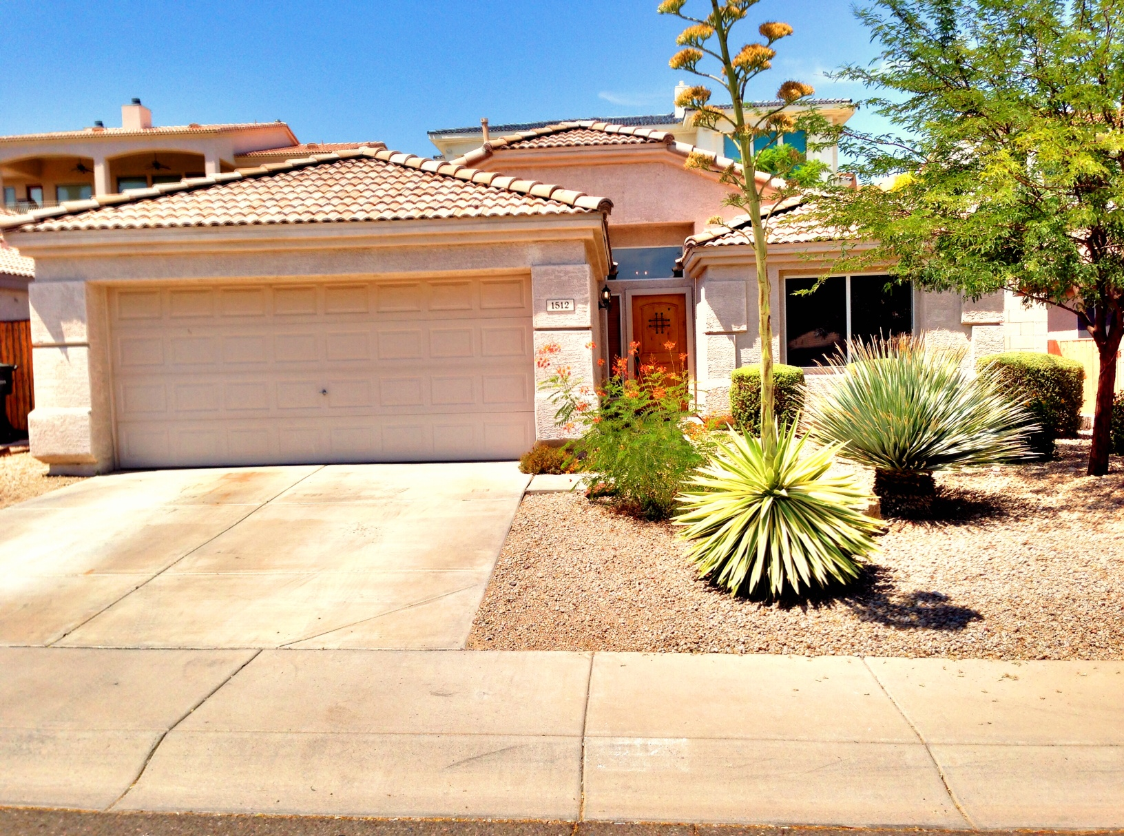 LEASED – 1512 E. Villa Rita Drive, Phoenix, AZ 85022 – Gorgeous 3 bed – 2 bath – elevated lot