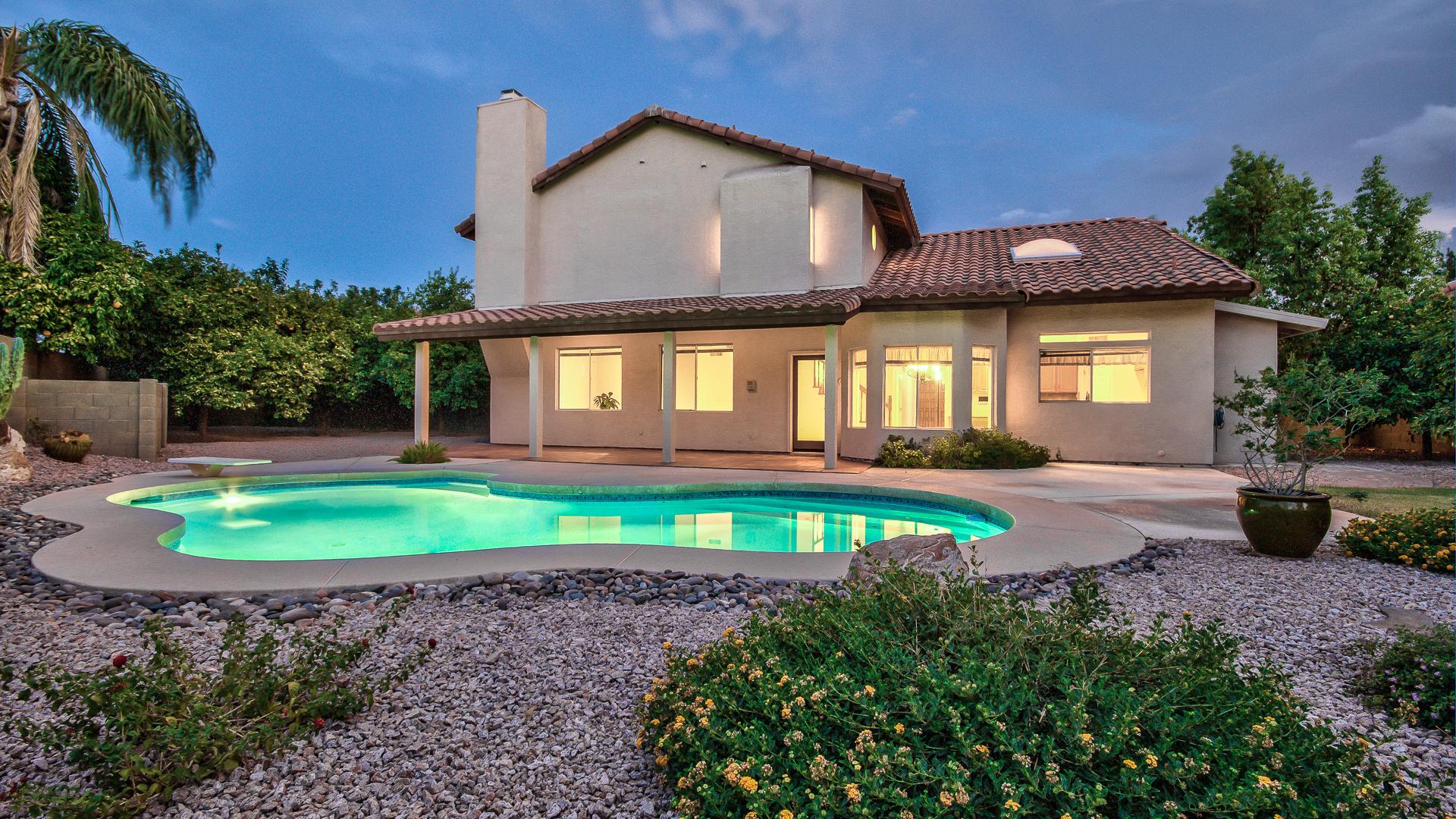 Gorgeous Large Lot Scottsdale Pool Property – 4 bedrooms ~ 2.75 baths ~ Fireplace ~ RV gate under 450k