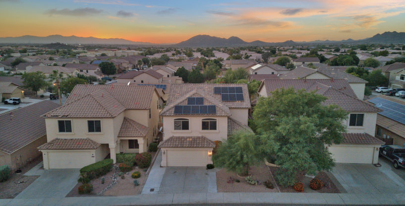 SOLD – Entrada Mountainside – 4 bed 2.5 bath – pool and hardscape fireplace – near mtn preserve – Turn-key