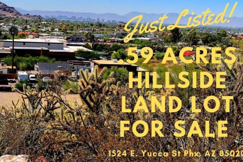 Phoenix Hillside Land Lot for Sale - Baden HomeSmart