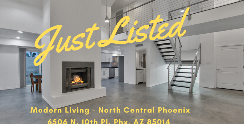 Gorgeous – Modern – upgraded North Central Phoenix 350k