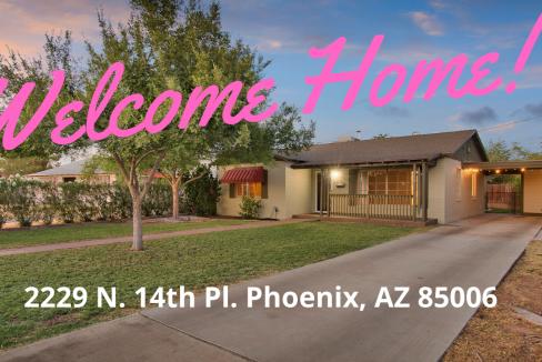 Central Phoenix Coronado area - Park fifth avenue - Home for Sale - Baden HomeSmart