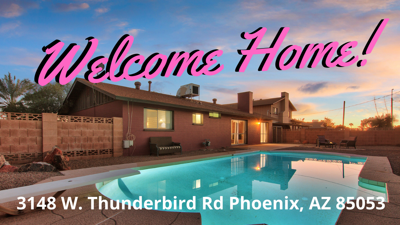 Large Pool Lot – 3 beds, plus a den, 2 baths – Great Phoenix location