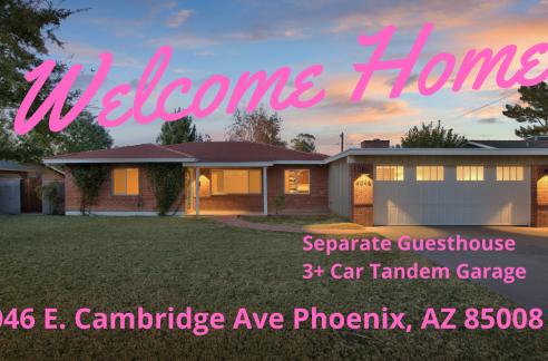 Rancho Ventura - Arcadia Baja area - Park fifth avenue - Home for Sale - Baden HomeSmart