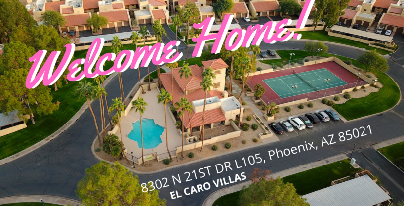 Great price – west North Central Phoenix – 2 bed, 2 bath with garage